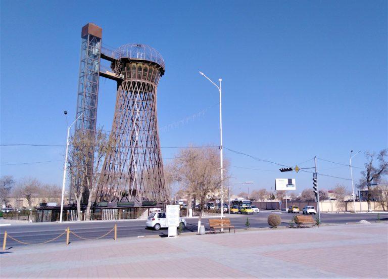 Boukhara tower Ouzbékistan