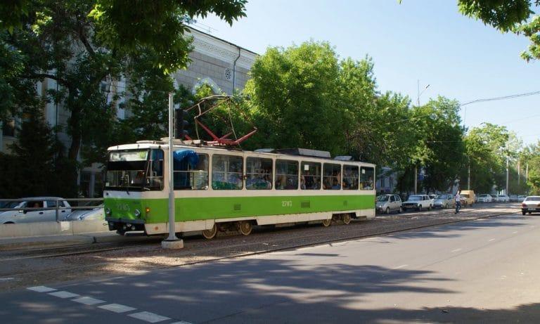 Tramway à Tashkent