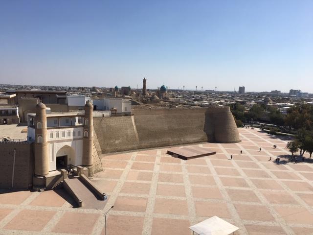 L'Ark de Boukhara Ouzbékistan