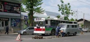 Osh city center