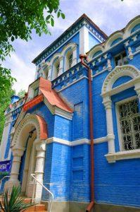 église orthodoxe à Osh Kirghizistan