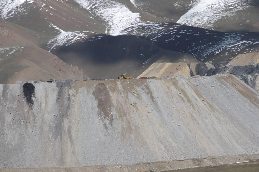 mine de charbon du Kirghizistan