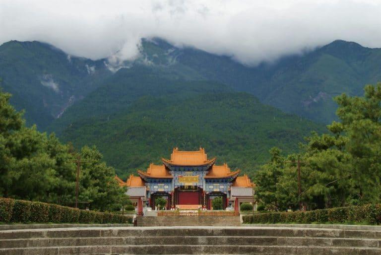 Dali, le temple de trois pagodes