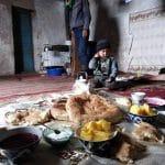 breakfast au Kirghizistan