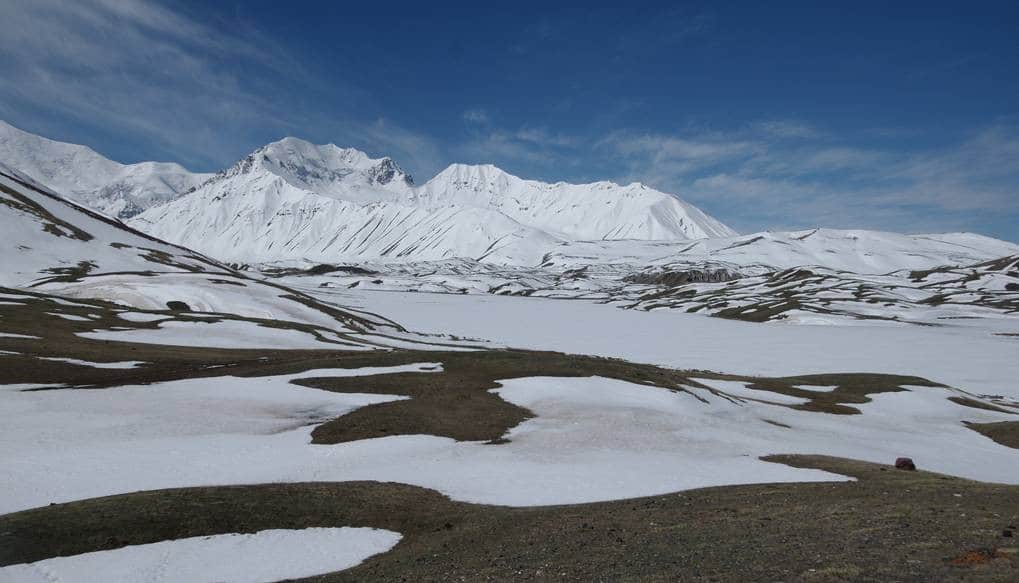 Tulpar-Kul lake Kirghizistan
