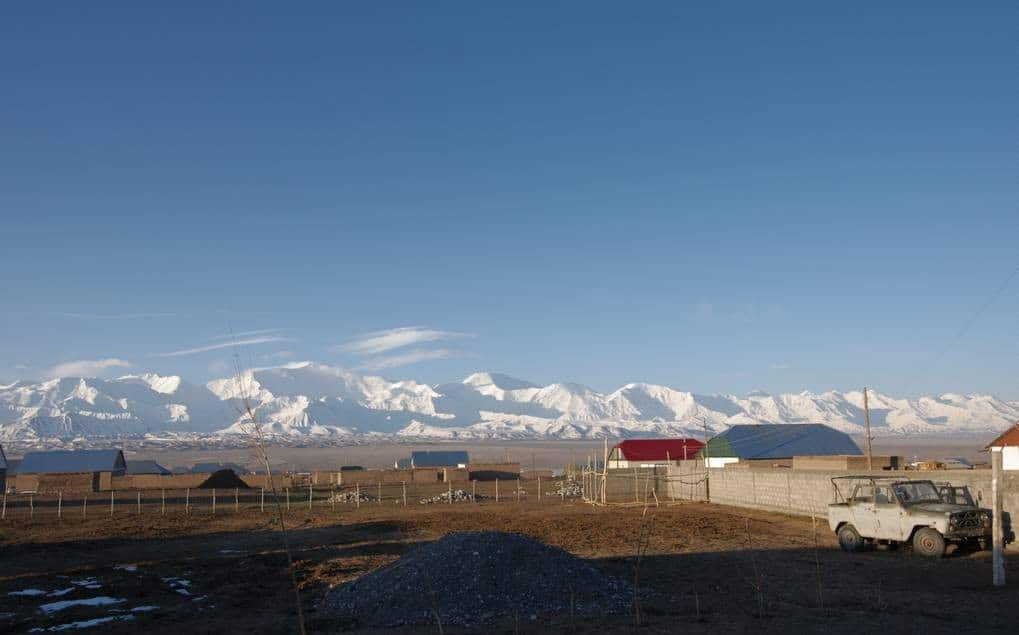 Sary Mogol au reveil au Kirghizistan