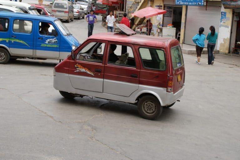 Vehicules chinois , mini voiture