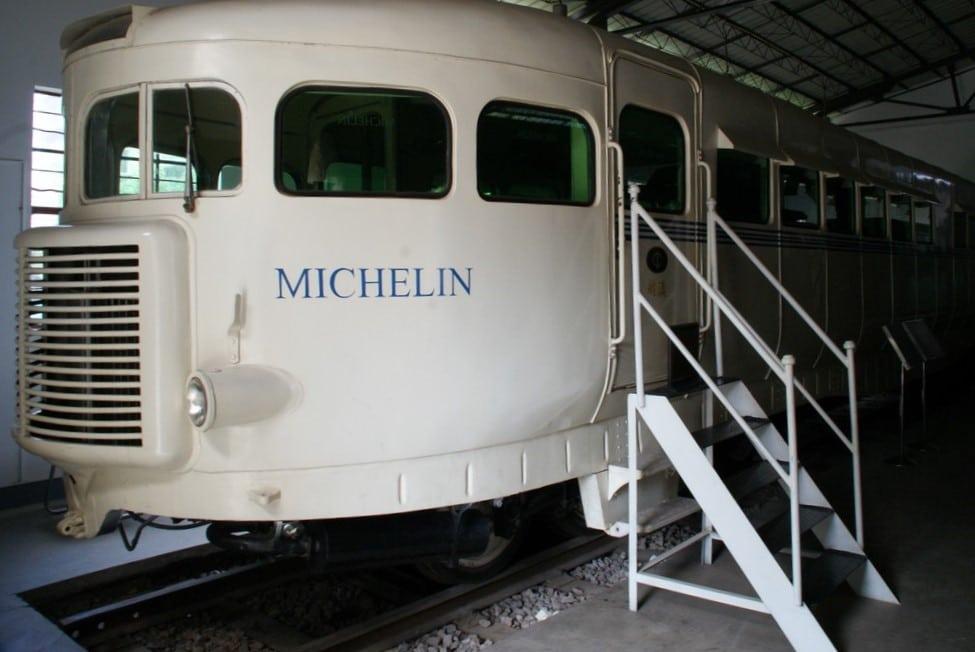 La micheline de Michelin