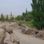 Chine , ruines de Jiahoé