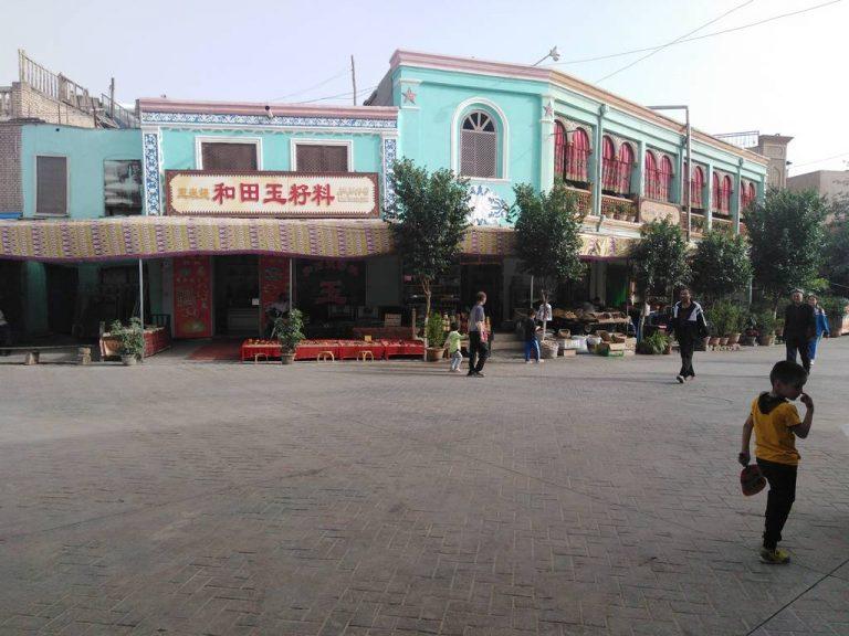 voyage à Kashgard en Chinee