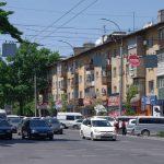 kirghizistan rue de Bishkek