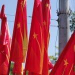 kirghizistan flag
