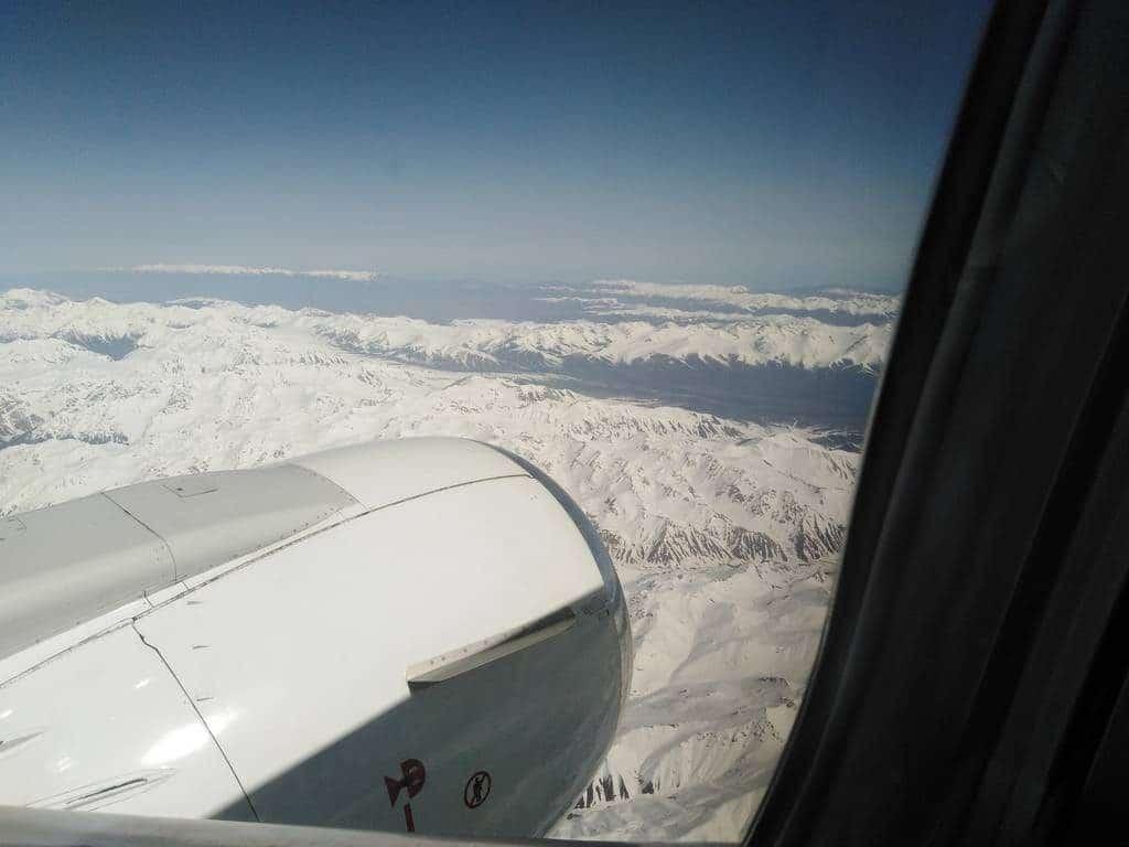 vol jusqu'a Bishkek kirghizistan