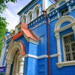 eglise bleue kirghiz voyage