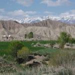 petit village kirghize