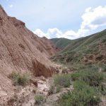 canyon voyage au kirghizistan