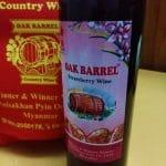 Vin de fraises