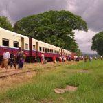 Voyage train birman
