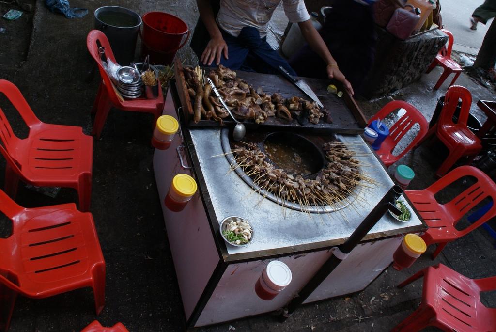 fondue birmane ; voyage en Birmanie