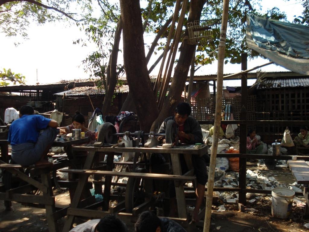 marché de jade de Mandalay , voyage en birmanie