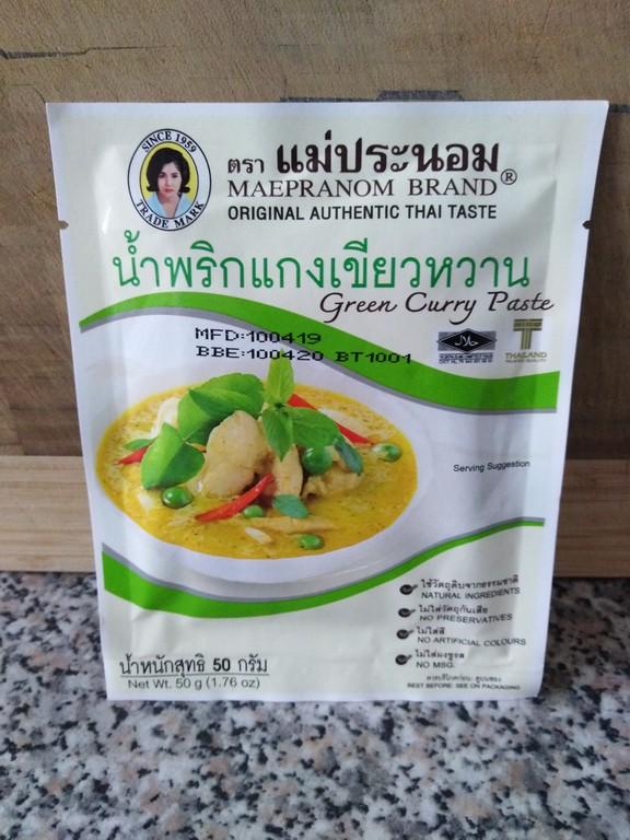 Pâte de yellow curry Le monde des épices