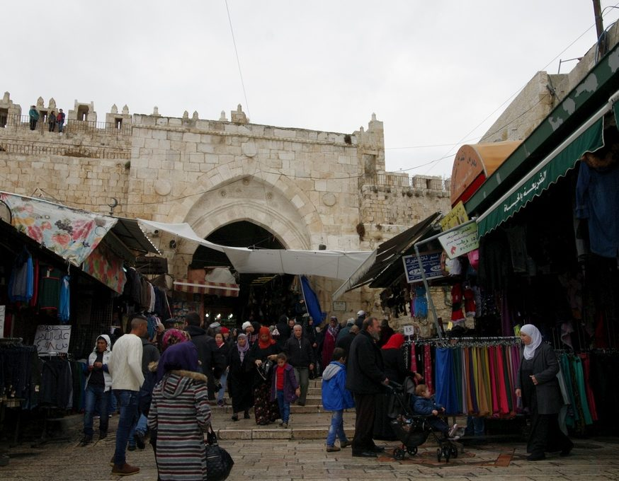 porte de Damas Israël