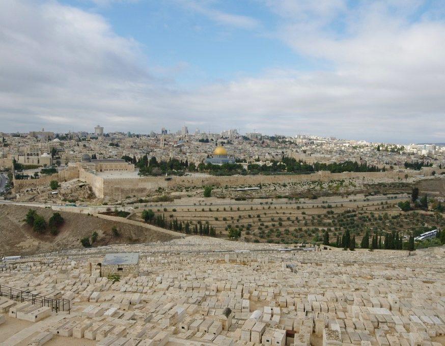 Cimetière sur le mont des oliviers
