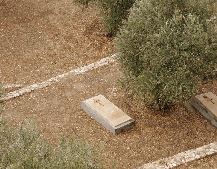 cimetiere chretien Jerusalem et Petra