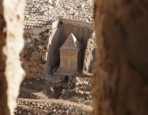 tombeau de Zacharie Jerusalem et Petra
