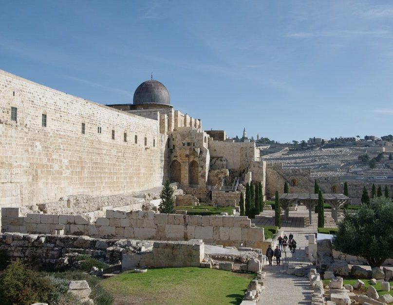 Mosquée Al Aqsa Jerusalem et Petra