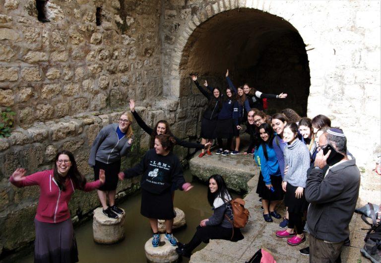 sortie du tunnel d'ezecias