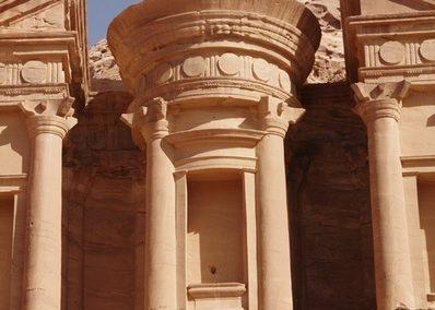 Pétra. Le monastère Jerusalem et Petra