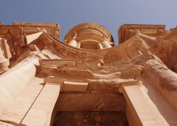 Pétra. Le monastère