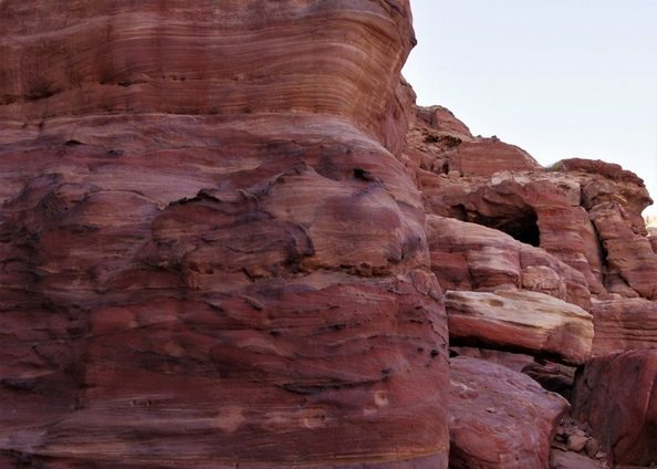 Le désert de Pétra''