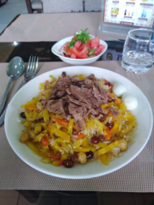 Plov , plat national ouzbek