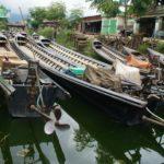 bateau sur le Canal de Nyaung Shwe