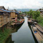 canal de Nyaung Shwe