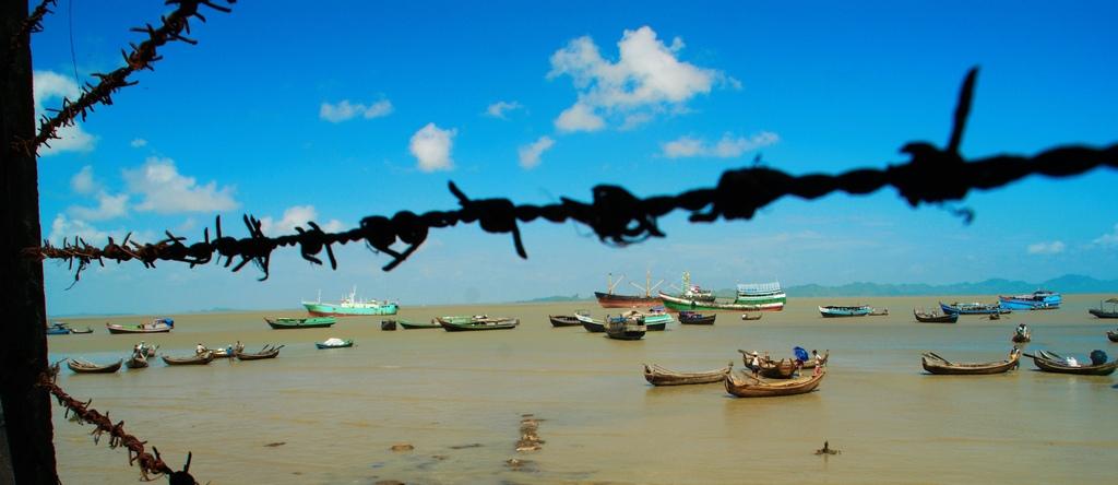 vue sur Sitwee en Birmanie; comment visiter la Birmanie