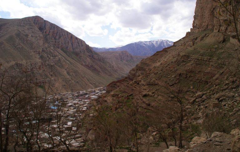 Maku .frontiere iranienne