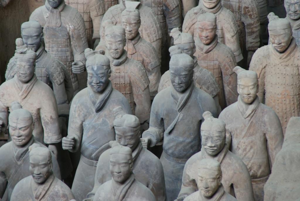 terra cotta warriors Xian