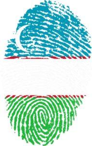 drapeau ouzbekistan; comment faire pour visiter l'ouzbekistan