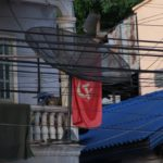 drapeau communiste RDP Lao