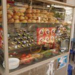 kiosque de sandwish à Vientiane RPD Laos