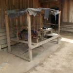 metier à tisser la soie