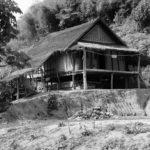 Maison traditionnelle en RDP Lao