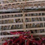Poisson séché au marché au laos