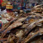 poisson seché au marché RDP Lao