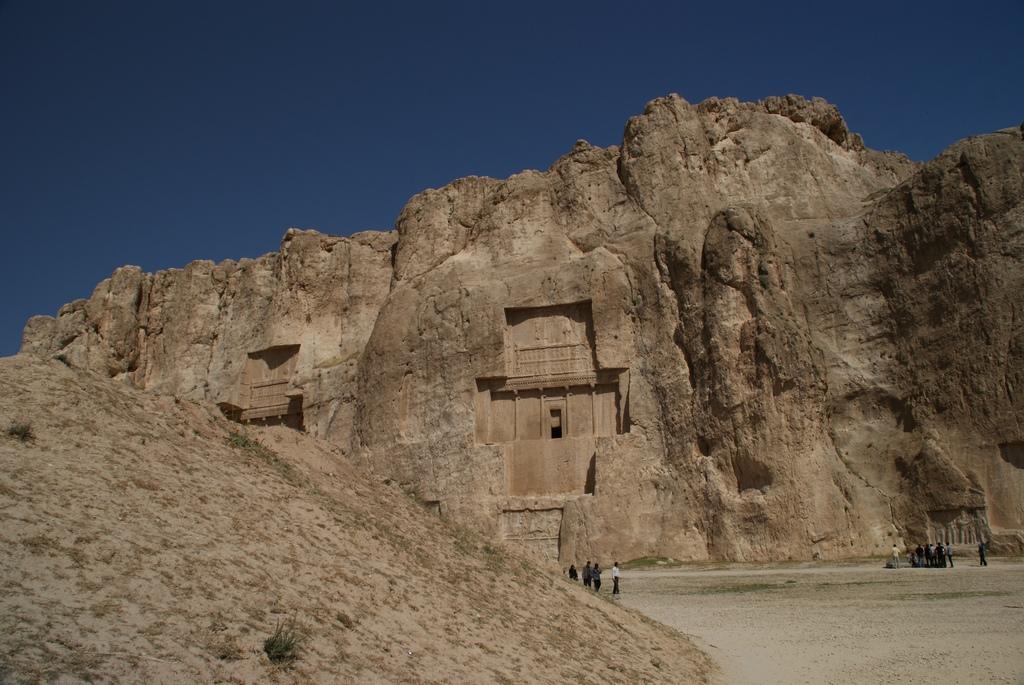 Tombe de Darius Ier.