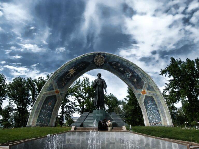 Monument de Dushanbe Tadjikistan