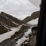 route entre Khorog et Dushanbe